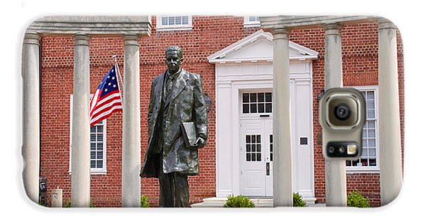 Thurgood Marshall Statue - Equal Justice For All Galaxy S6 Case