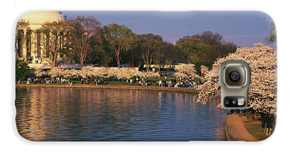 Tidal Basin Washington Dc Galaxy S6 Case by Panoramic Images