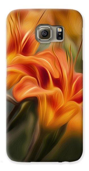 Tiger Lily Galaxy S6 Case