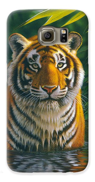 Tiger Pool Galaxy S6 Case
