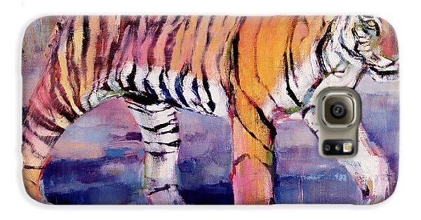 Tigress, Khana, India Galaxy S6 Case by Mark Adlington