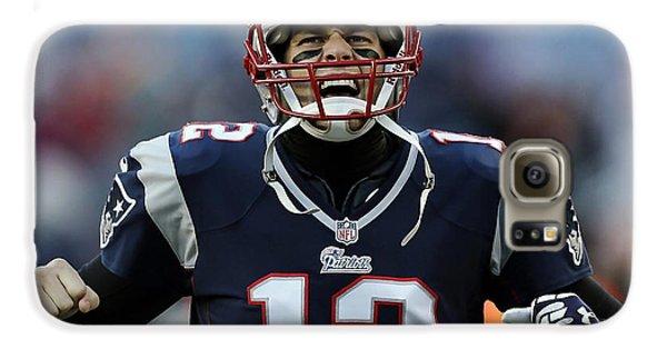 Tom Brady Galaxy S6 Case by Marvin Blaine