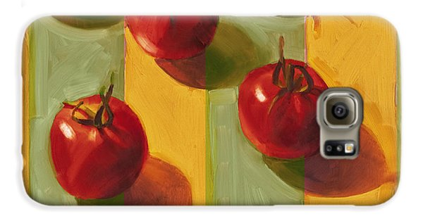 Tomatoes Galaxy S6 Case by Cathy Locke