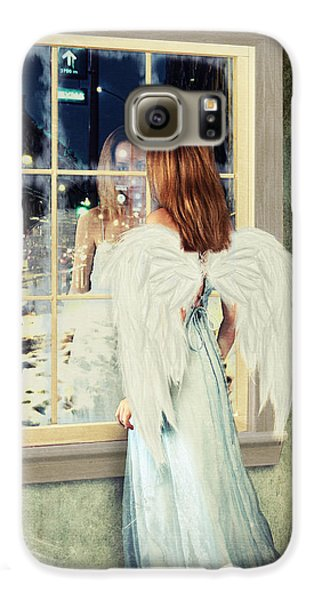 Too Cold For Angels Galaxy S6 Case by Linda Lees