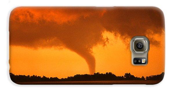 Tornado Sunset Galaxy S6 Case