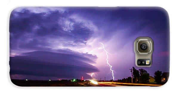 Nebraskasc Galaxy S6 Case - Tornado Warning In Northern Buffalo County by NebraskaSC