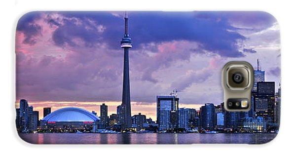 Toronto Skyline Galaxy S6 Case