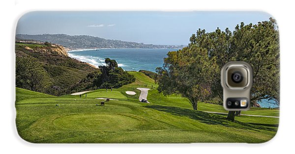Torrey Pines Golf Course North 6th Hole Galaxy S6 Case by Adam Romanowicz