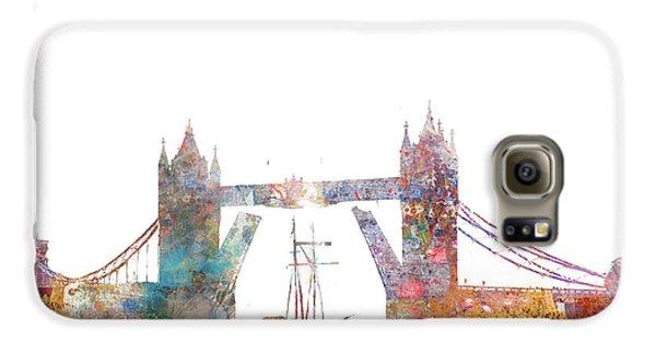 Tower Bridge Colorsplash Galaxy S6 Case