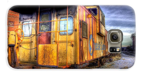 Train Caboose Galaxy S6 Case