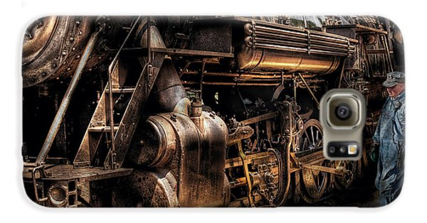 Train - Engine -  Now Boarding Galaxy S6 Case