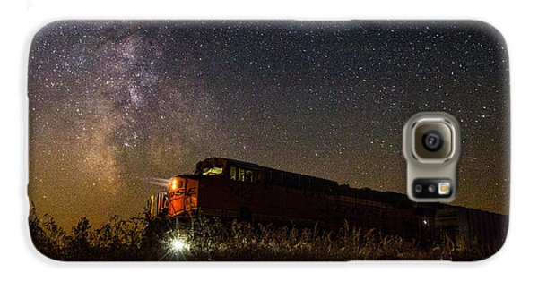 Train To The Cosmos Galaxy S6 Case by Aaron J Groen
