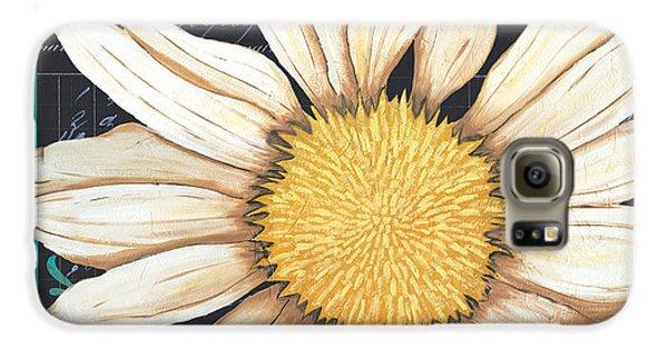 Daisy Galaxy S6 Case - Tranquil Daisy 2 by Debbie DeWitt