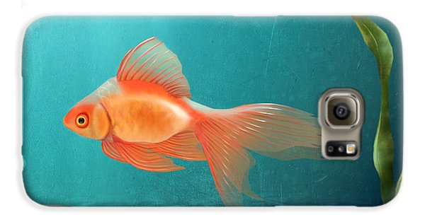 Goldfish Galaxy S6 Case - Tranquility by April Moen