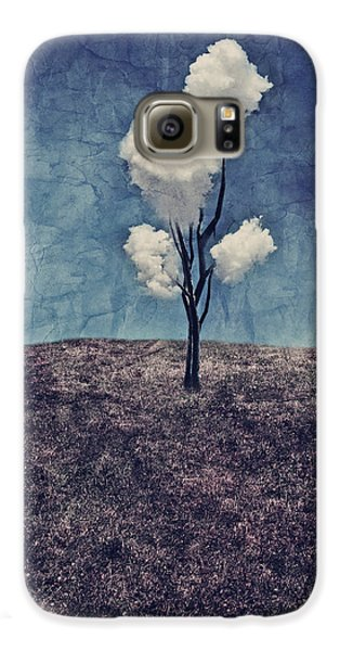 Tree Clouds 01d2 Galaxy S6 Case by Aimelle
