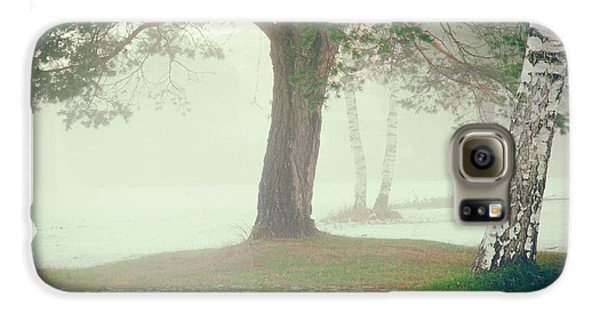 Galaxy S6 Case featuring the photograph Trees In Fog by Silvia Ganora