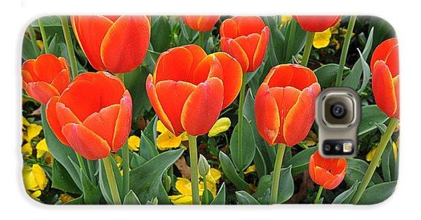 Trendy Tulips  Galaxy S6 Case