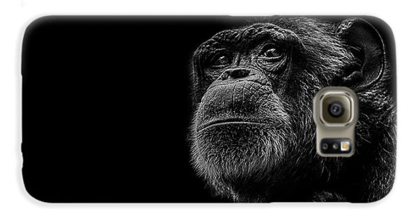 Ape Galaxy S6 Case - Trepidation by Paul Neville