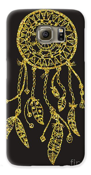 Magician Galaxy S6 Case - Tribal Vector Dream Catcher With by Qilli