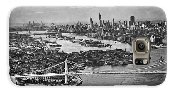 Triborough Bridge Is Completed Galaxy S6 Case by Underwood Archives