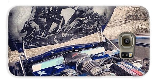 Instagood Galaxy S6 Case - Tribute #corvette To All Veterans #usa by Mike Maher