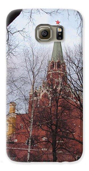 Trinity Tower At Dusk Galaxy S6 Case by Anna Yurasovsky