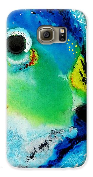 Tropical Fish 2 - Abstract Art By Sharon Cummings Galaxy S6 Case
