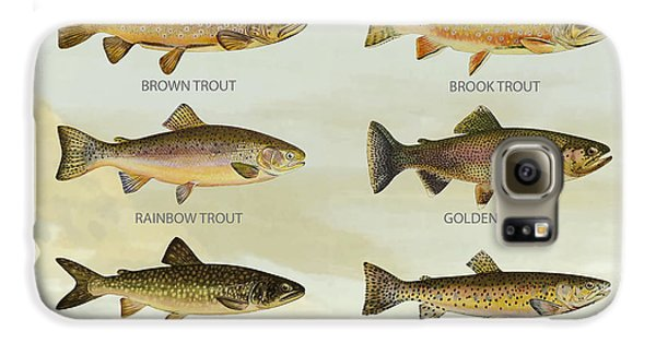 Trout Species Galaxy S6 Case