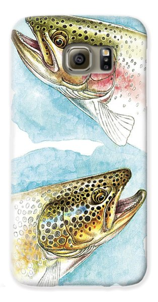Trout Study Galaxy S6 Case by JQ Licensing