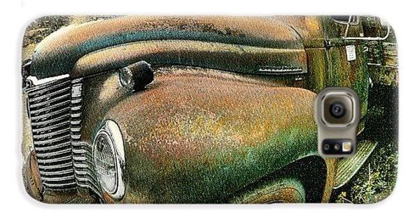 Classic Galaxy S6 Case - #truck #rust #rusty #pickup #photo by Jill Battaglia