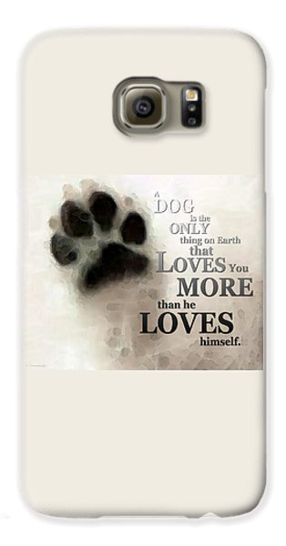 True Love - By Sharon Cummings Words By Billings Galaxy S6 Case