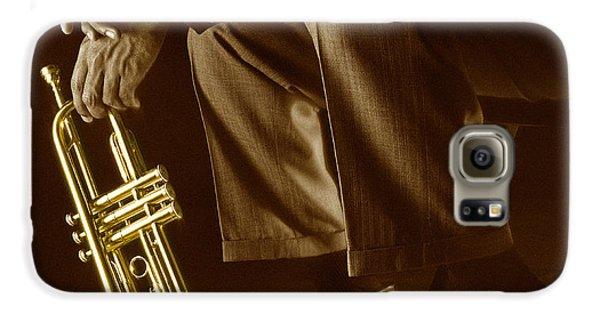 Trumpet Galaxy S6 Case - Trumpet 2 by Tony Cordoza