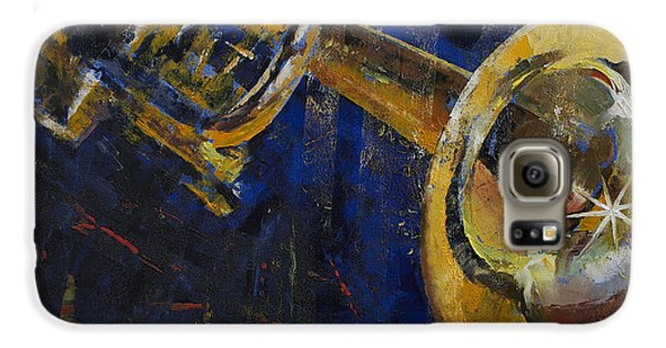 Trumpet Galaxy S6 Case - Trumpet by Michael Creese