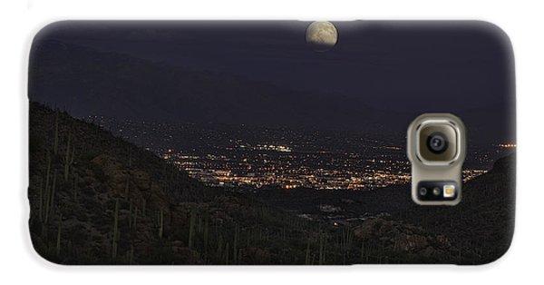 Tucson At Dusk Galaxy S6 Case by Lynn Geoffroy