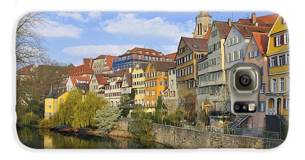 Tuebingen Neckarfront With Beautiful Old Houses Galaxy S6 Case