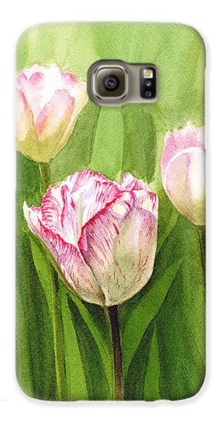 Tulips In The Fog Galaxy S6 Case