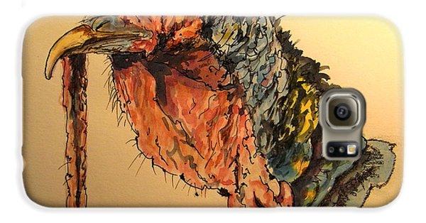 Turkey Galaxy S6 Case - Turkey Head Bird by Juan  Bosco