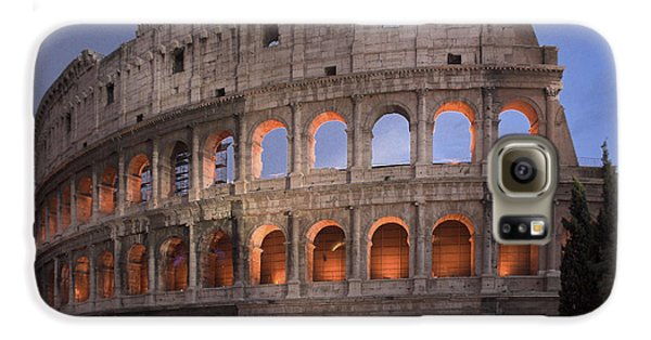 Twilight Colosseum Rome Italy Galaxy S6 Case