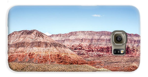 Two Layered Mountains Galaxy S6 Case by  Onyonet  Photo Studios
