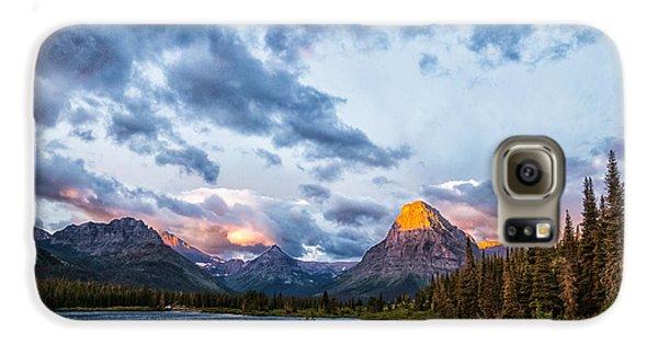 Two Medicine Lake Sunrise Galaxy S6 Case