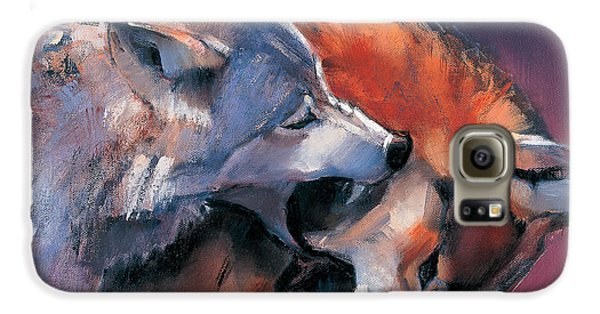 Two Wolves Galaxy S6 Case