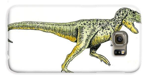 Tyrannosaurus Rex Galaxy S6 Case by Michael Vigliotti