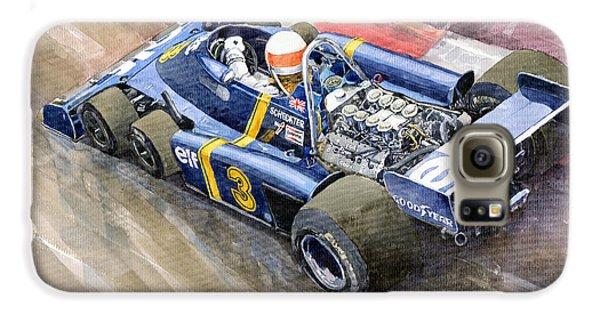 Elf Galaxy S6 Case - Tyrrell Ford Elf P34 F1 1976 Monaco Gp Jody Scheckter by Yuriy Shevchuk
