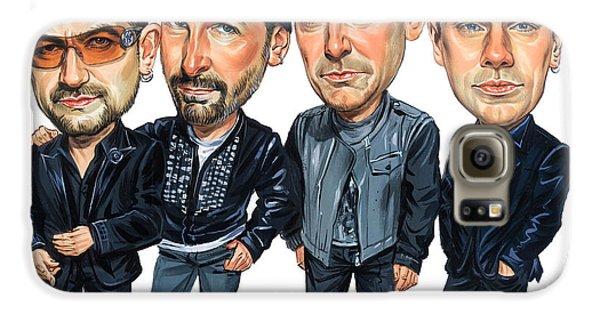 U2 Galaxy S6 Case by Art