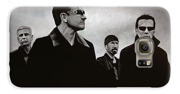 Musician Galaxy S6 Case - U2 by Paul Meijering