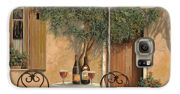 Food And Beverage Galaxy S6 Case - Un Altro Bicchiere Prima Di Pranzo by Guido Borelli