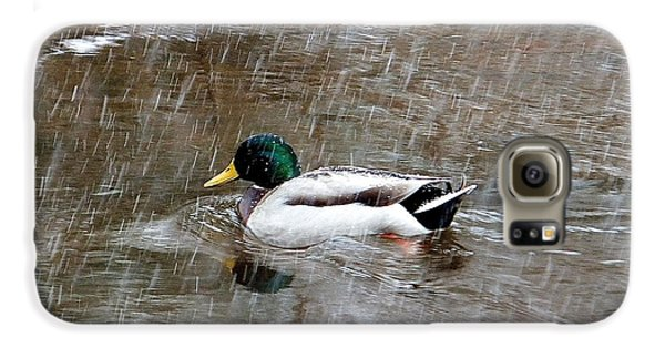 Galaxy S6 Case featuring the photograph Un Froid De Canard by Marc Philippe Joly