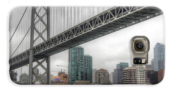 Under The San Francisco Bay Bridge Galaxy S6 Case