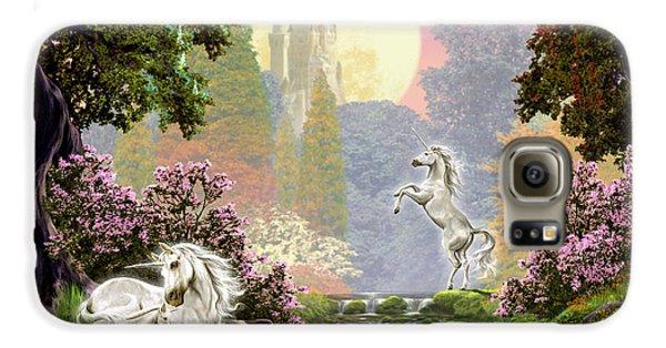 Unicorn New Born Galaxy S6 Case by Garry Walton