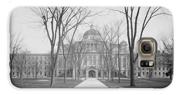 University Hall, University Of Michigan, C.1905 Bw Photo Galaxy S6 Case